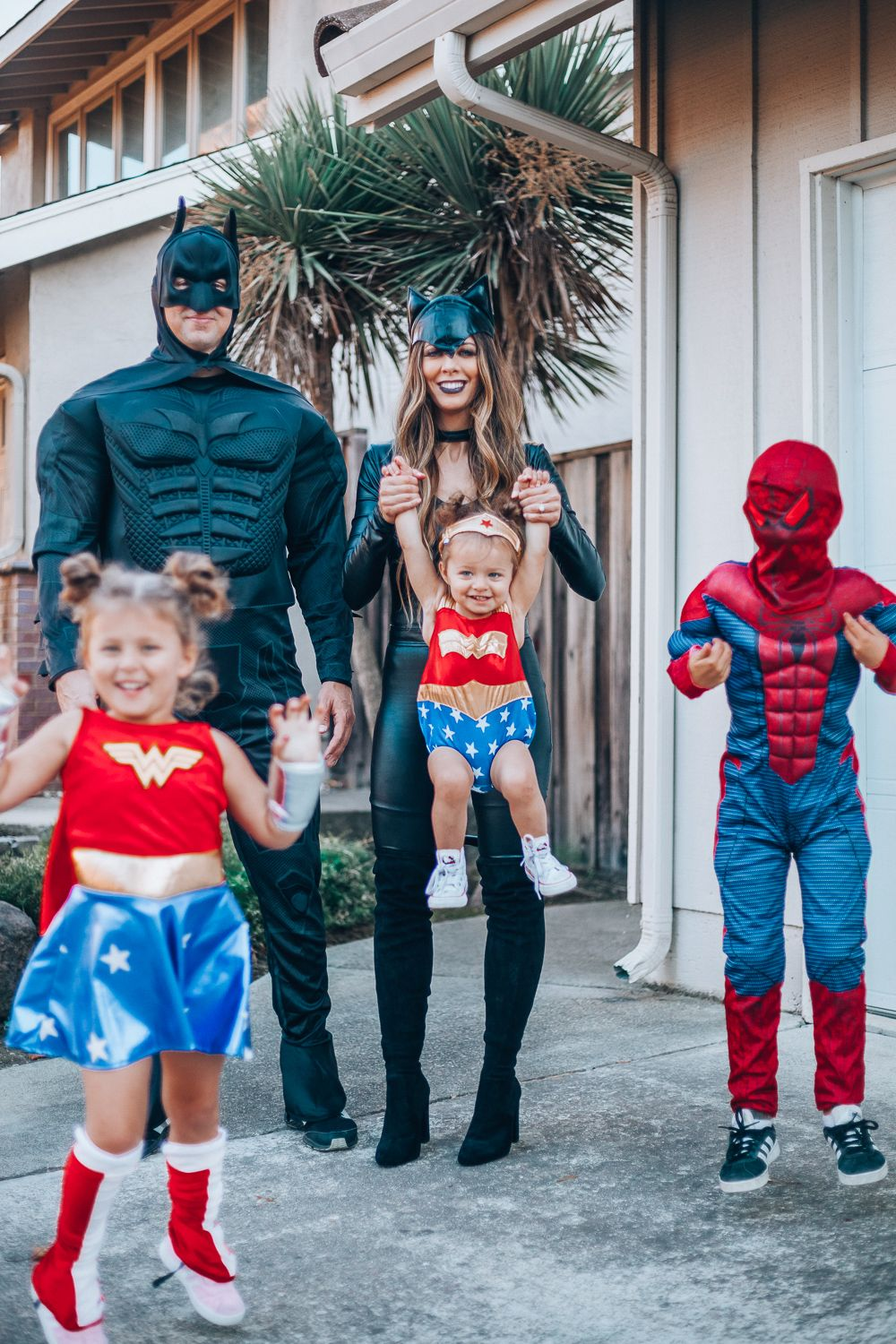 Halloween Costumes 2020 Heros Creative Family Halloween Costumes | The Girl in the Yellow Dress