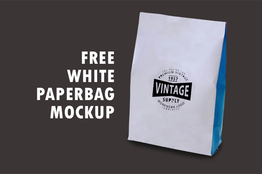 Download Free Paper Bag Mockup Psd Free Design Resources Bag Mockup Mockup Free Psd Packaging Mockup