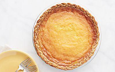 Indiana Sugar Cream Pie Recipe Buttermilk Pie Recipes Food Processor Recipes
