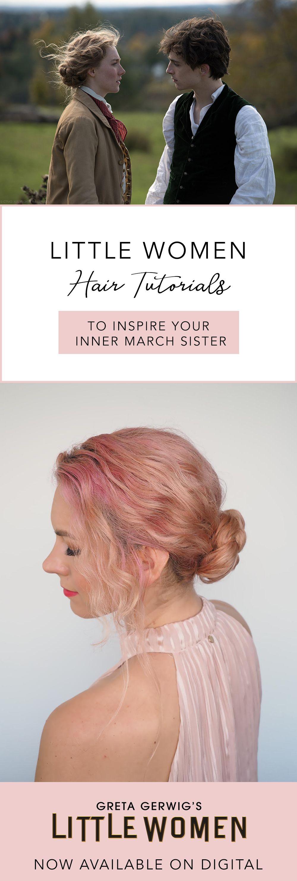 Little Women Inspired Hairstyles Hair Romance In 2020 Hair Tutorial Hair Romance Loose Waves Hair