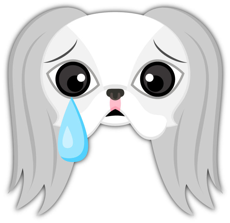 Japanese chin emoji stickers are you a japanese chin puppy lover everyone loves japanese chins