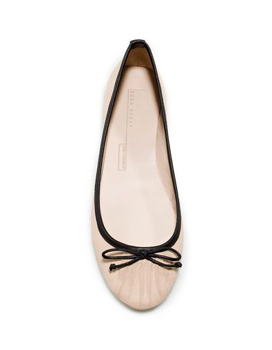 c849bb0e Soft Ballerina - Shoes - Woman - New collection - ZARA United States ...