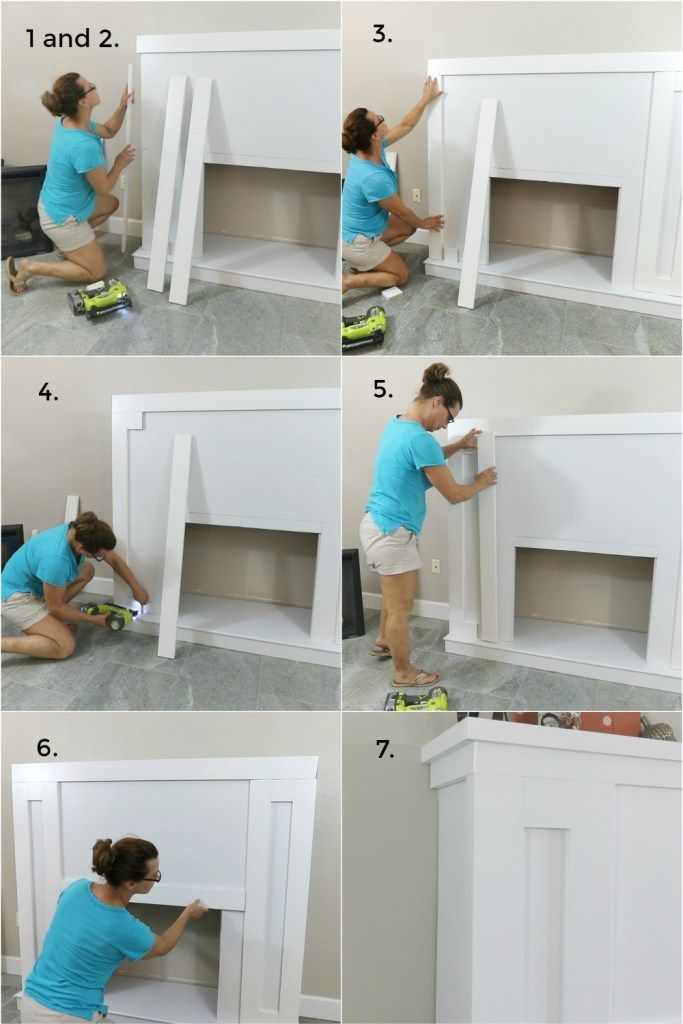 Photo of How To Build a DIY Fireplace With Electric Insert – H2OBungalow