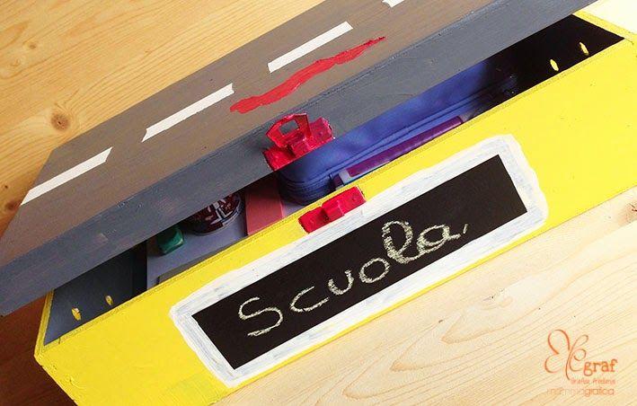 La scatola dei compiti DIY