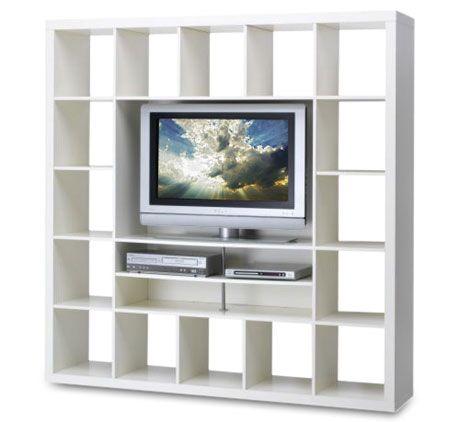 Ikea White Expedit Tv Unit
