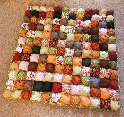 Perfect Puff Quilt - @Jo's Country Junction can help you make your ... : how to make easy quilt - Adamdwight.com
