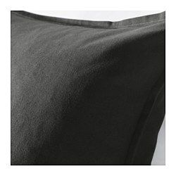 Black cusion for bed: combination of black, white, grey and then two textured black and white, Perfect for bed!
