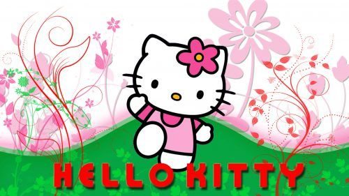 Feel Free To Collect This Hello Kitty 3D Wallpaper And Set As Your