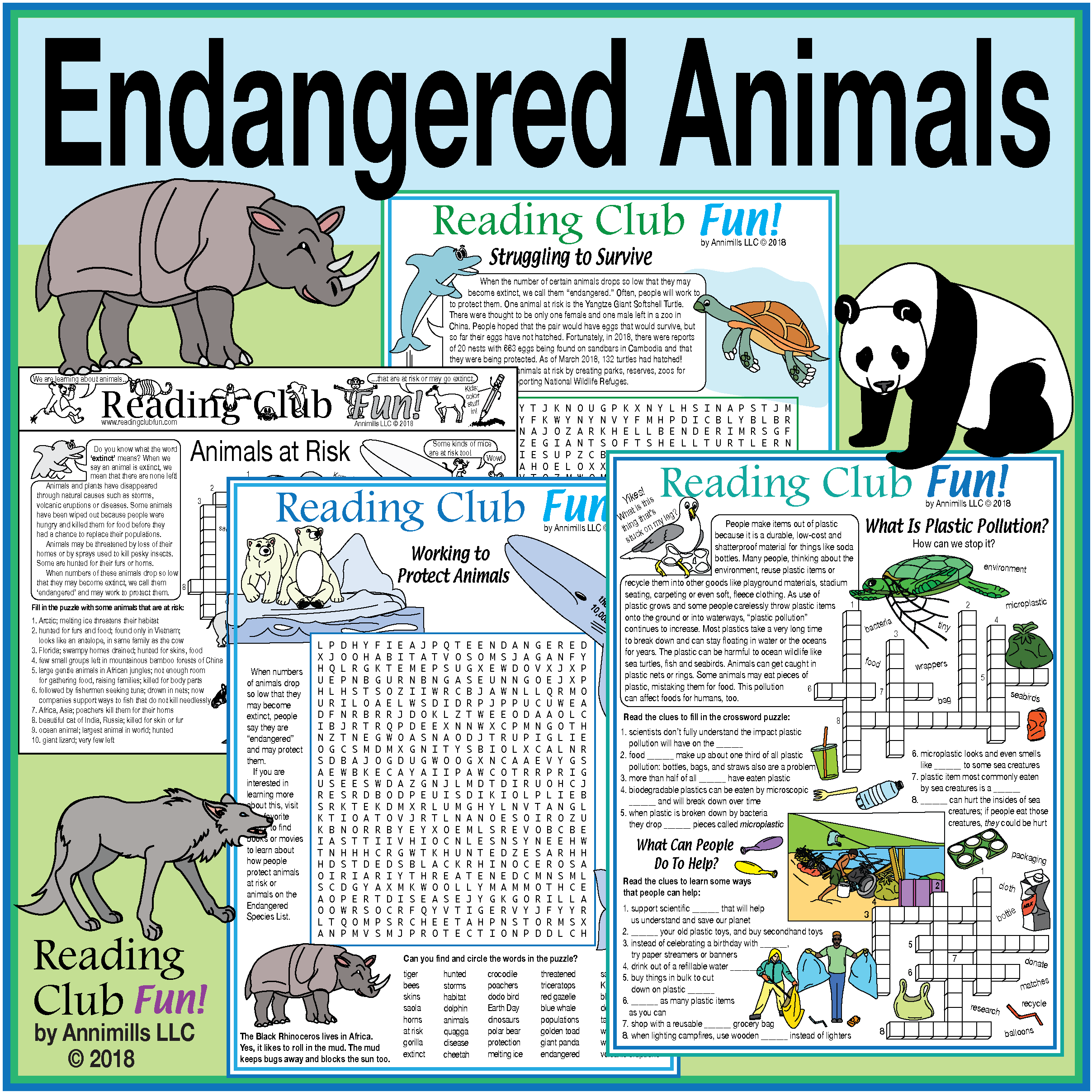 Endangered Animals Set Earth Day