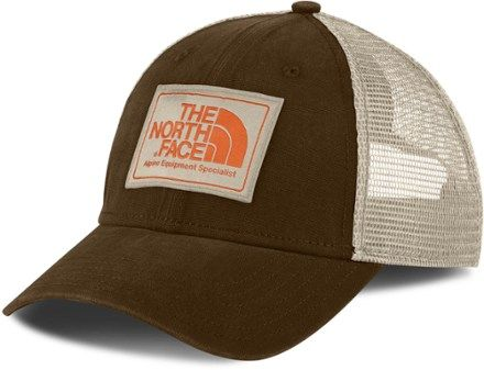 97134f58008 The North Face Mudder Trucker Hat Urban Navy High Rise Grey ...