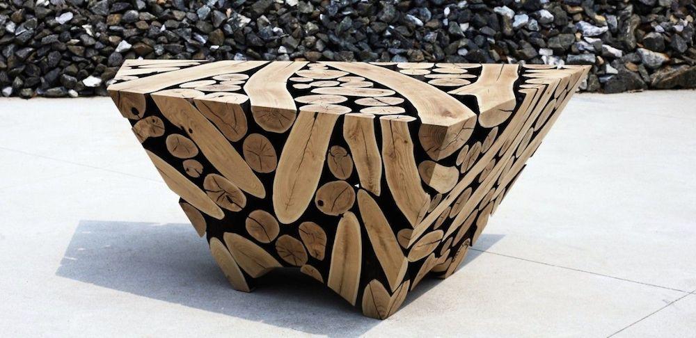 Transformations Sculptural Wood Furniture by Jaehyo Lee