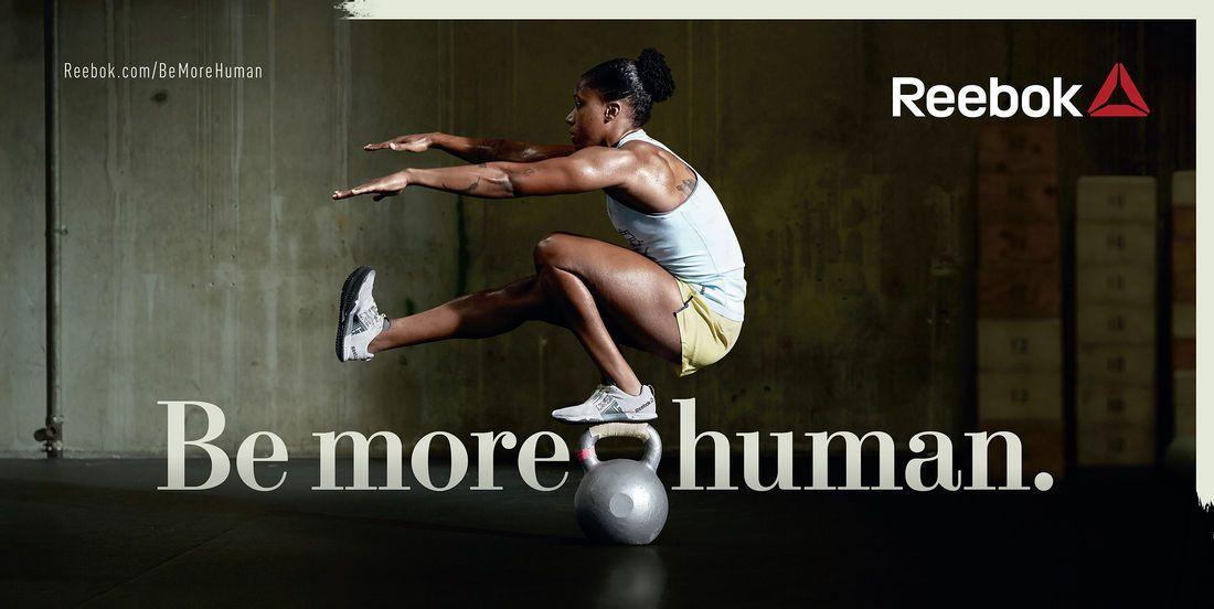 Aeródromo Falsificación menta  REEBOK 'BE MORE HUMAN'   Reebok, Human, Ball exercises