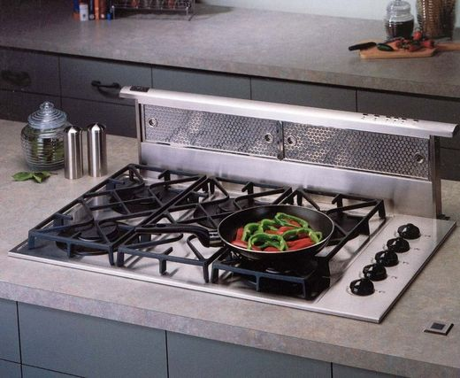 Dd0130ss Best Downdraft Hood With 500 Cfm Internal Blower 30 Inch Stainless Steel Ventilation System Kitchen Stove Kitchen