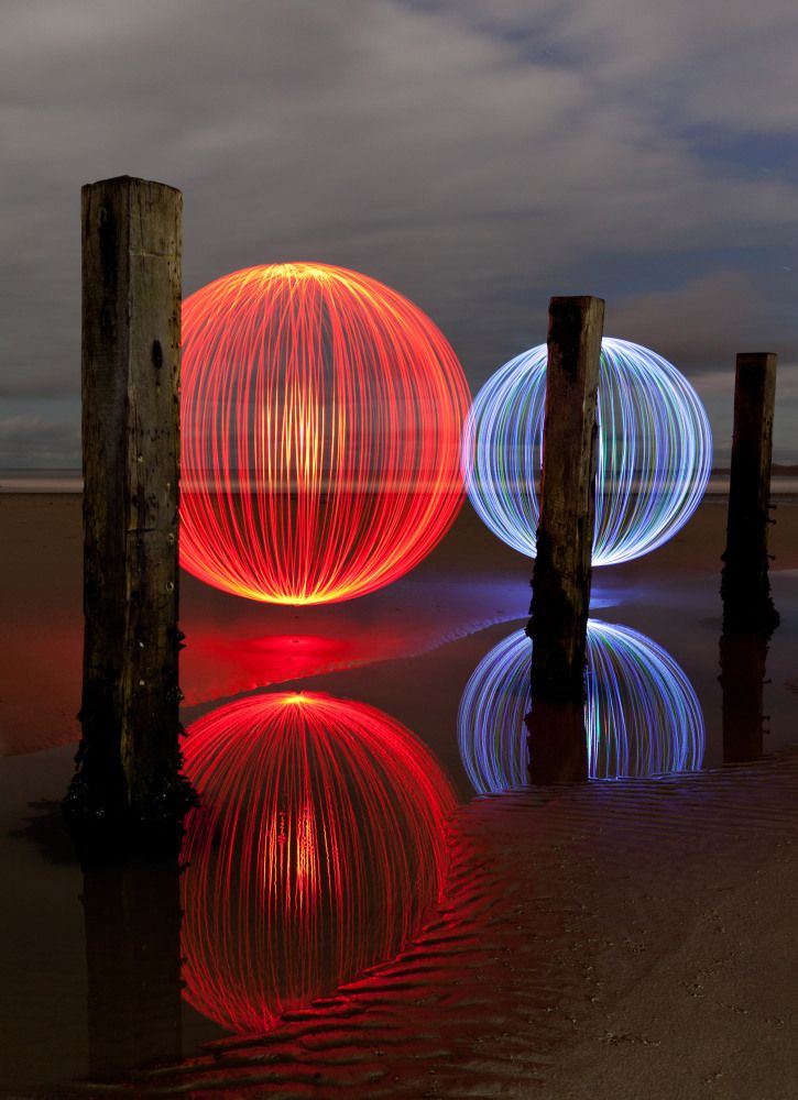 A Glowing Year: The Best Of 2012's Light Art In Pictures #lightartinstallation