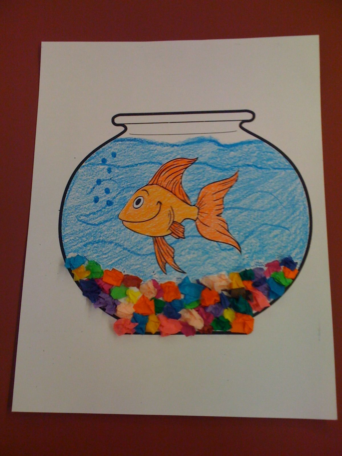 Pets fish bowl craft preschool pinterest pets for Fish bowl craft