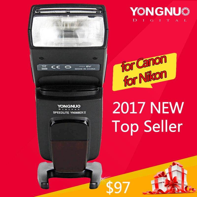 94.00$  Buy here - http://aioga.worlditems.win/all/product.php?id=32566683229 - Yongnuo YN-568EX II YN568EX II Wireless TTL HSS Flash Speedlite for Canon 5D3 5D2 6D 7D Nikon D800 D750 D7100