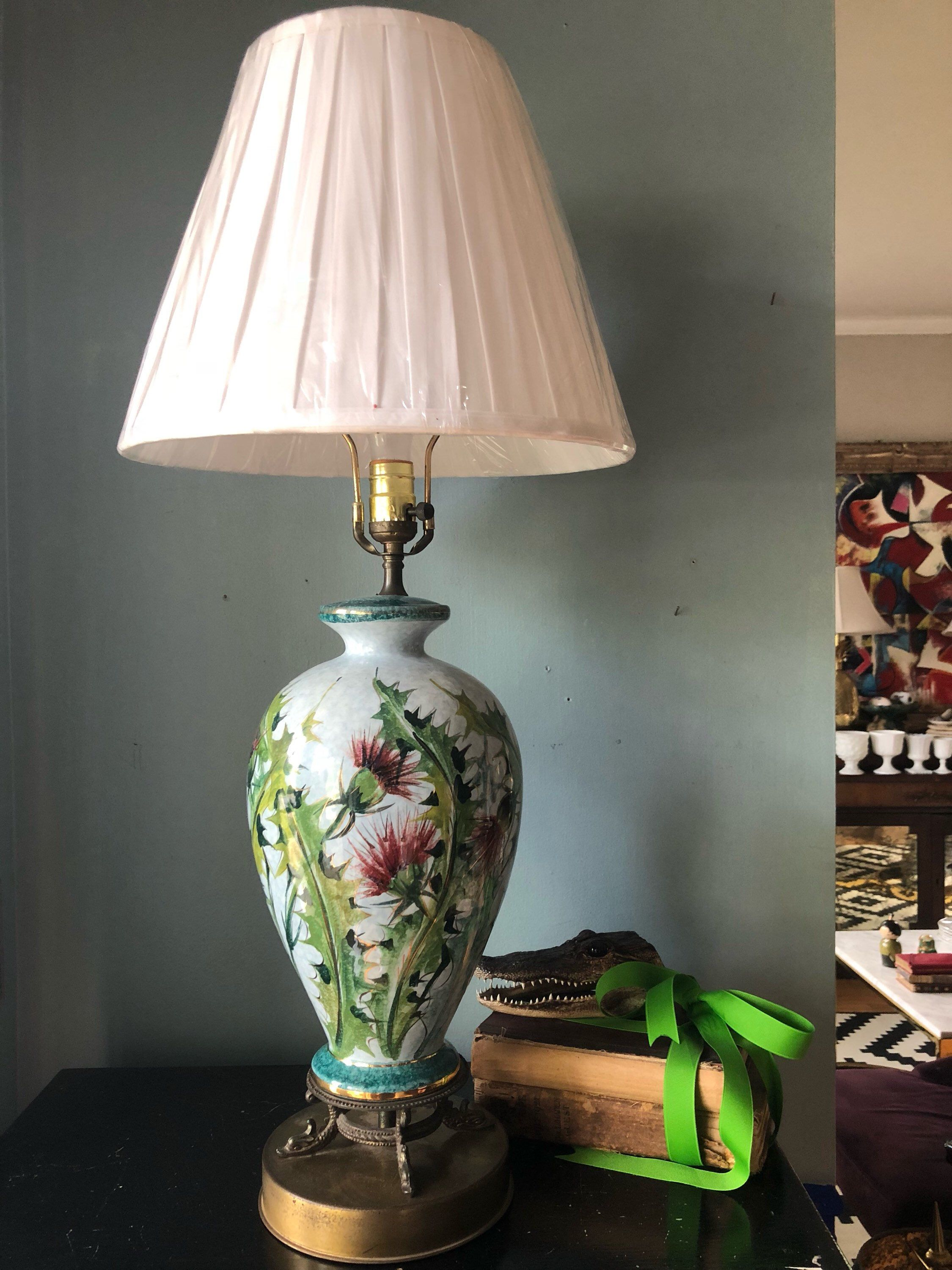 decor oriental gaiashine lampshade shade xplrvr home asian lamps full thailand lighting lamp light collections