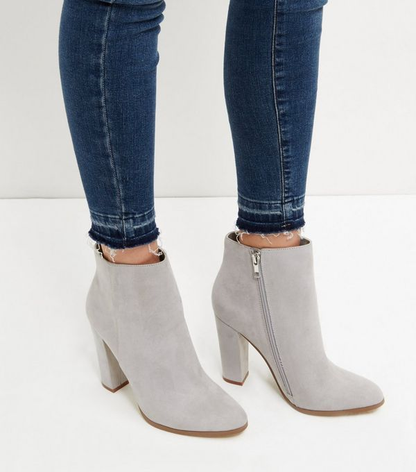 New LookACT - Ankle boots - grey nvpdW