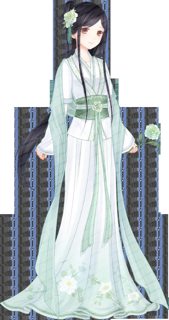 Spring Camellia • Love Nikki Database Японская одежда