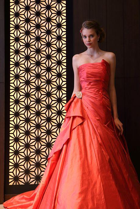カラードレス ウエディングドレスのオーダー・レンタル Hisako Takayama