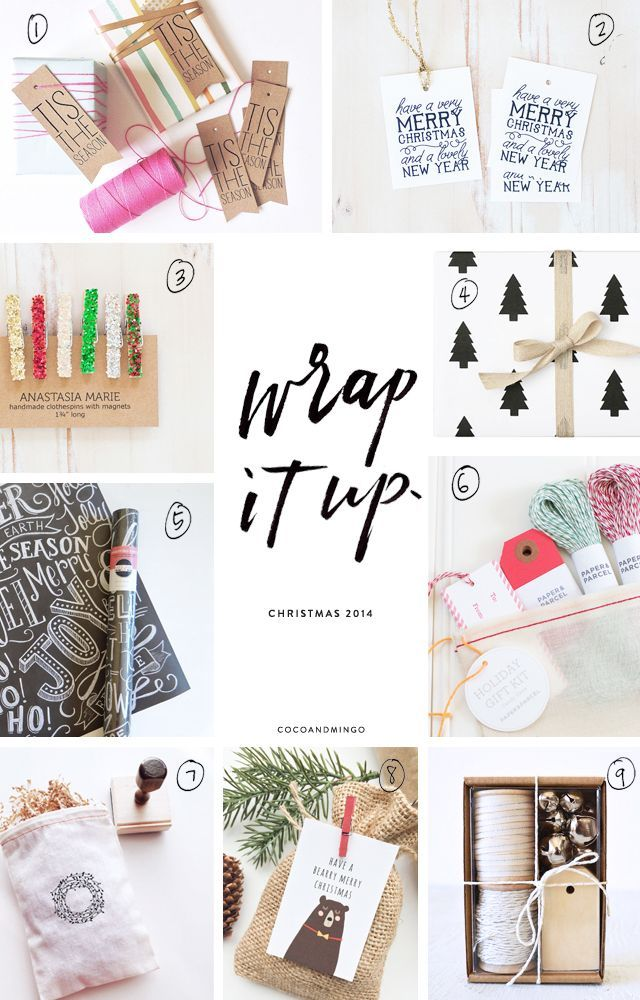 Wrap it up free printable gift tags packing pinterest free coco mingo design and lifestyle inspiration small christmas giftschristmas gift tagschristmas 2014gift makerwrapping giftswrapping ideasfree printable negle Gallery