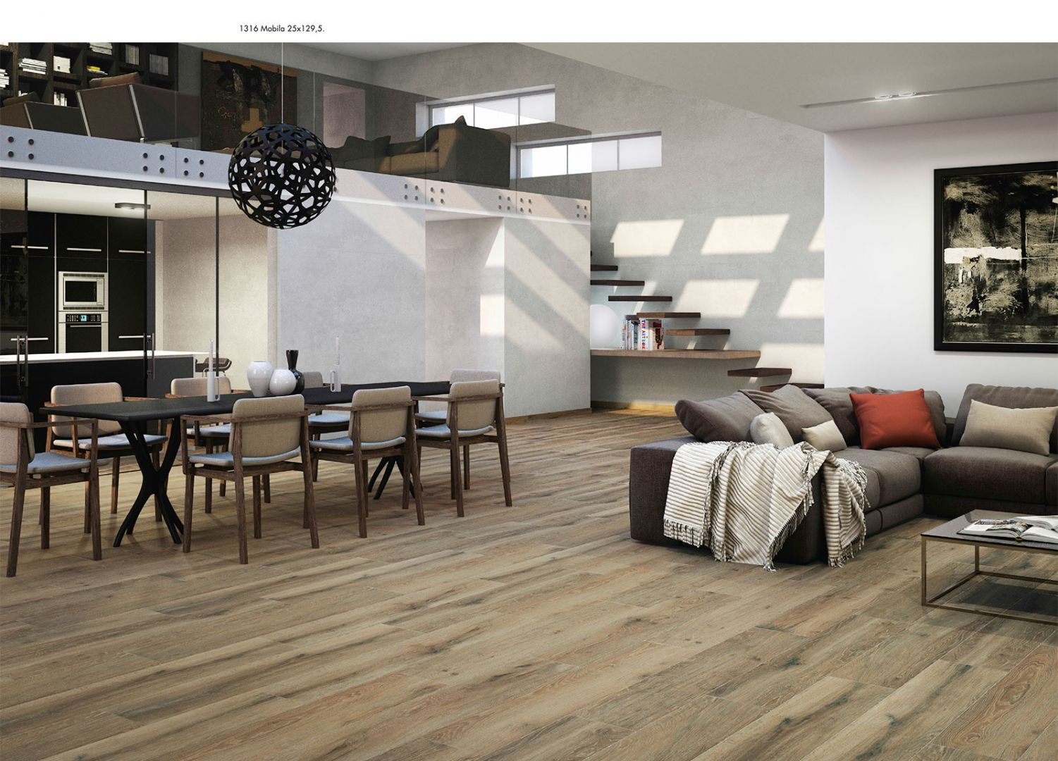 Limed Oak Flooring at Italian Tile and Stone Dublin (With