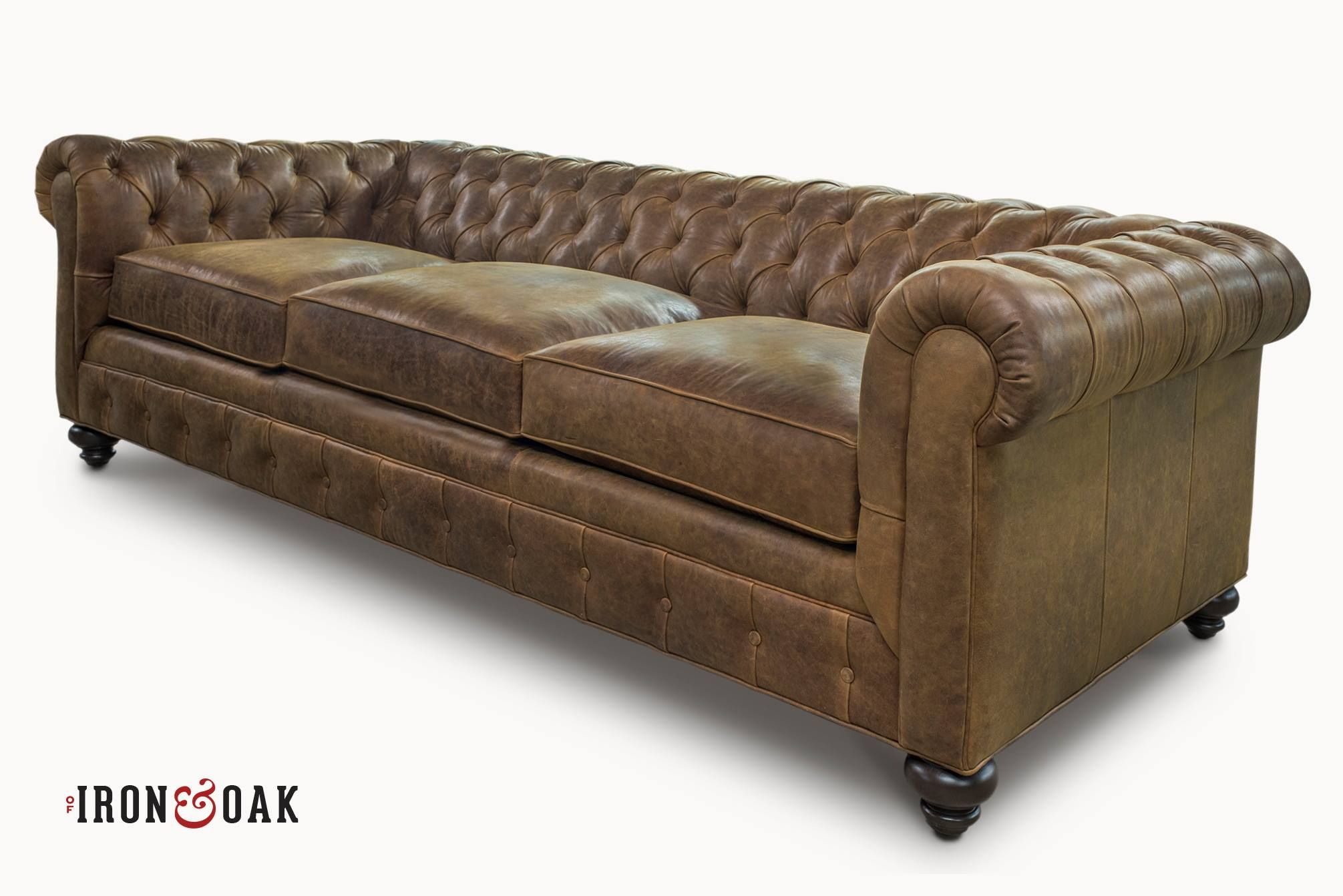 The Irving Custom Traditional Chesterfield Sofas More Classic