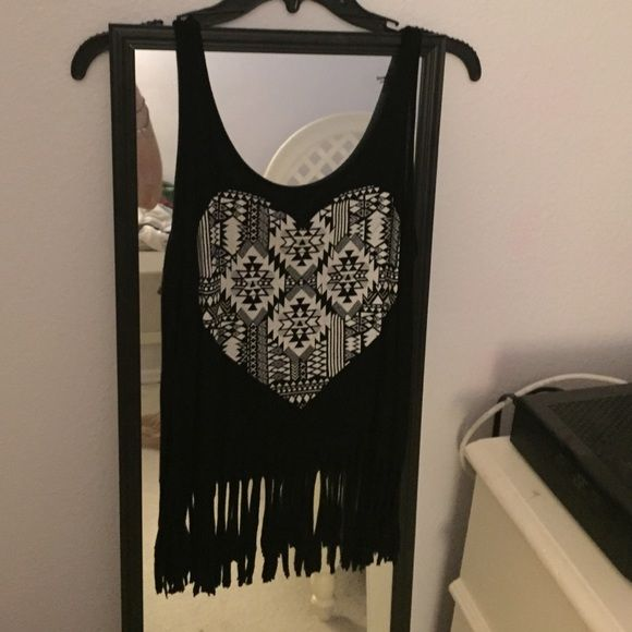 Party/beach top Charlotte Russe cute top, never worn Charlotte Russe Tops Crop Tops