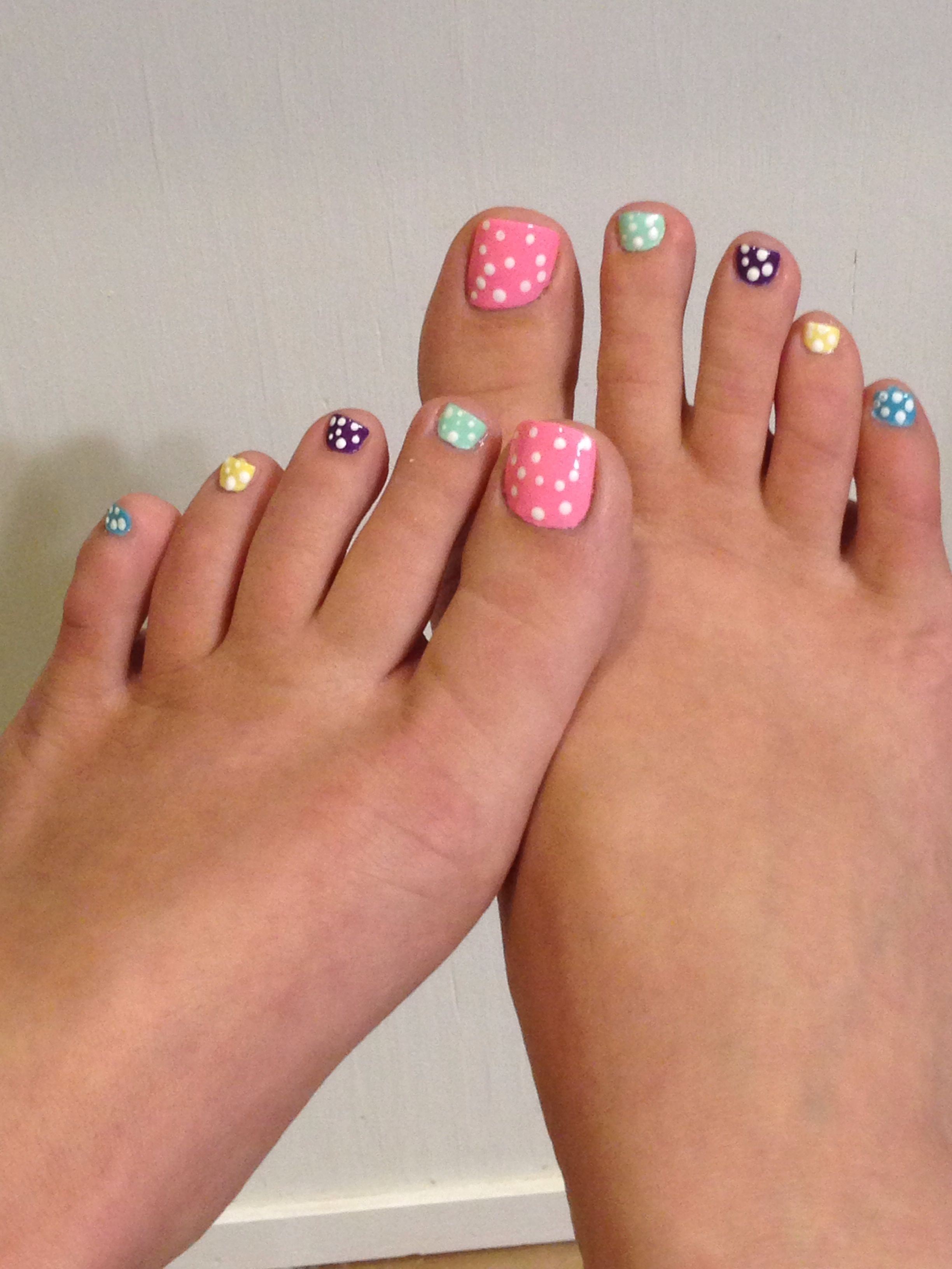 My easter pedicure cute spring toes toe nail ideas pinterest