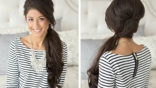 17 Retro Side Ponytail Side Ponytail Hairstyles Hair Styles Hair Puff