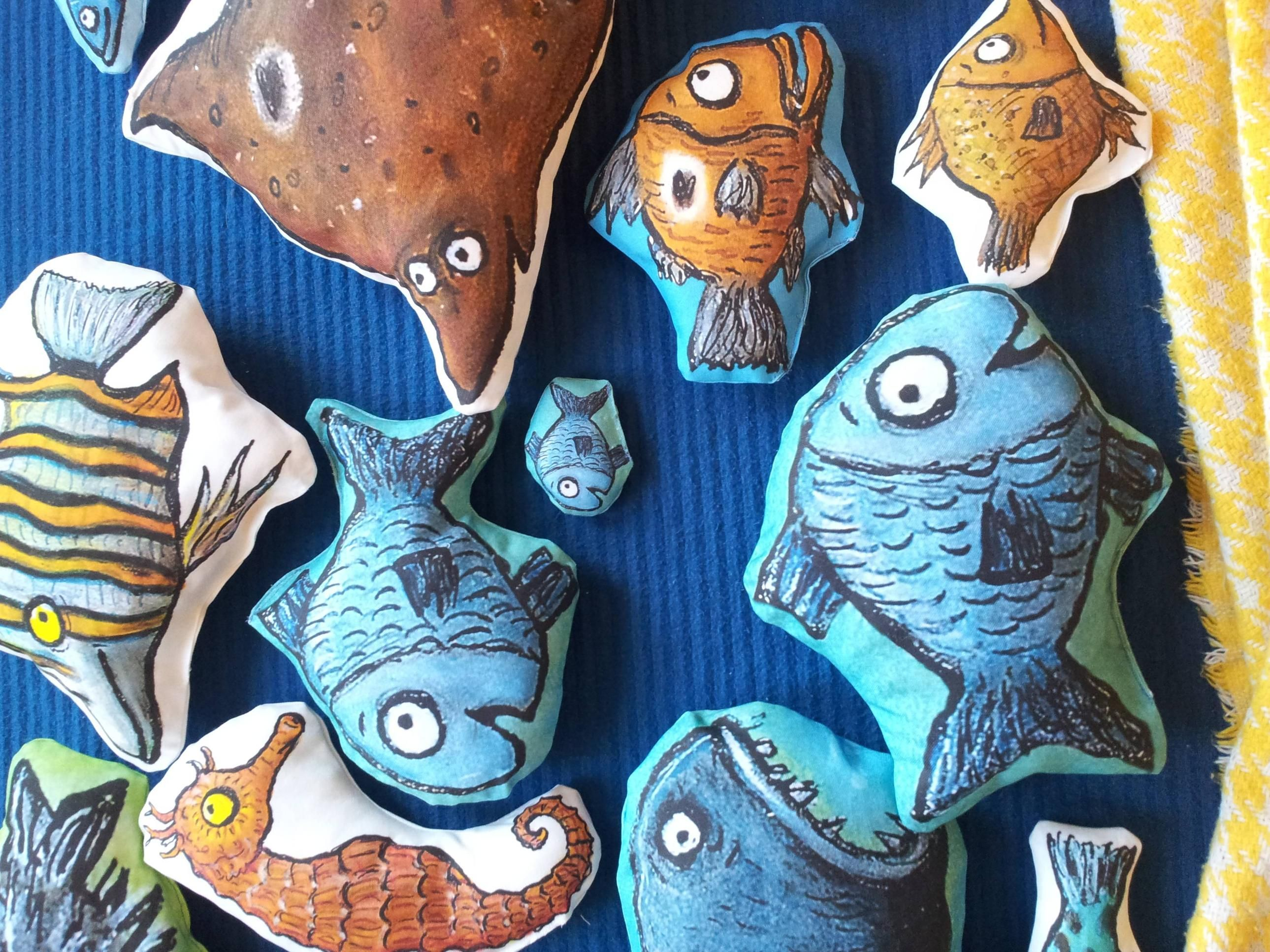 Tiddler The Story Telling Fish Plushies From Axel