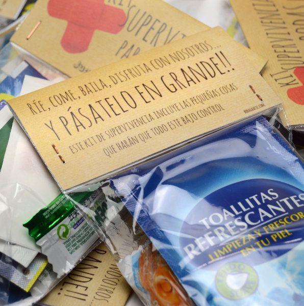 Kit de emergencias para despedidas DIY. Tutorial en www.diariodeunanovia.es #despedidas #despedidadesolteros, kit de emergencia, kit de superviviencia