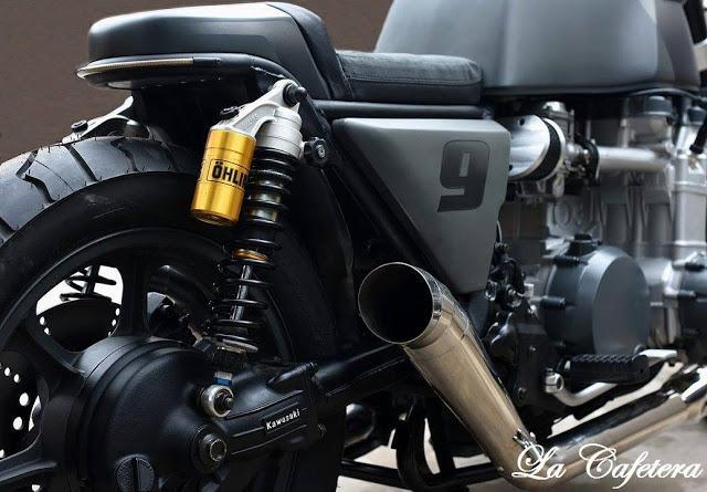 Kawasaki Z1300cc. El Diablo - RocketGarage - Cafe Racer
