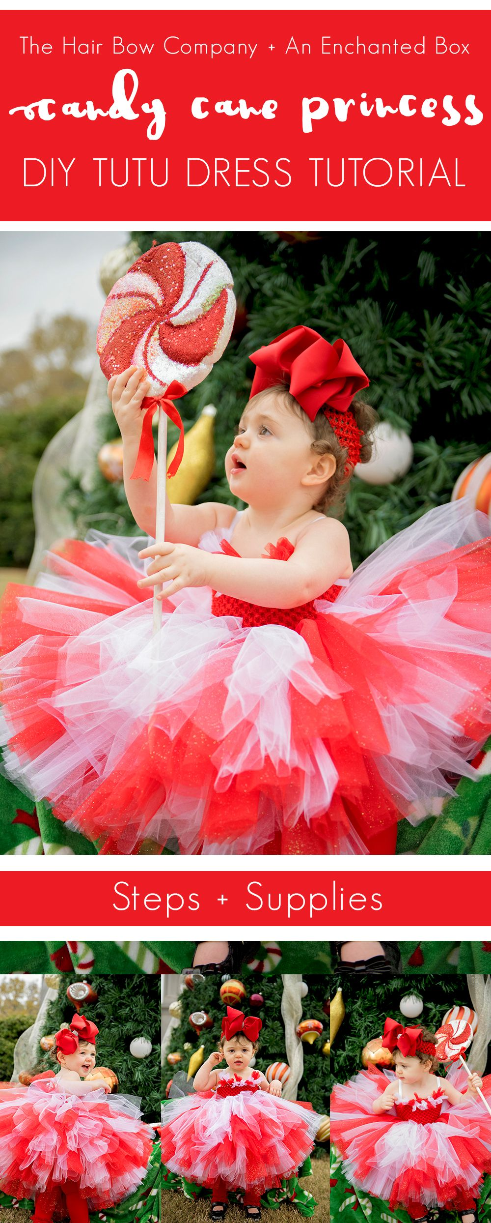 339b789706 Caitlin from An Enchanted Box on Etsy has created another darling tutu dress  for us and is back on the blog this week! This Candy Cane Princess Tutu  Dress ...