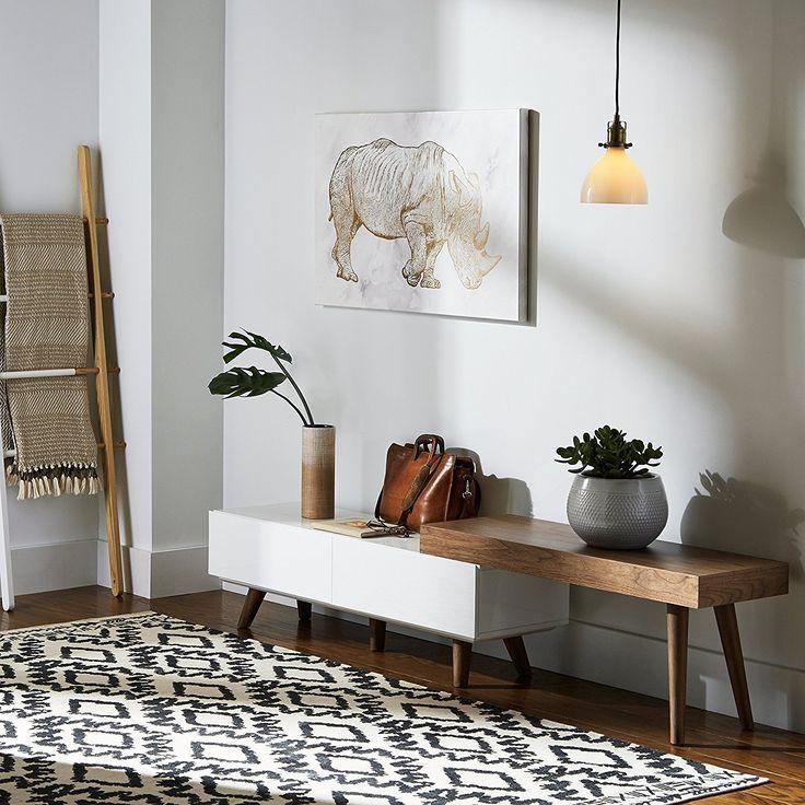 Amazon rivet mid century console table scandinavian nordic interior design pinterest mid century console tables and consoles