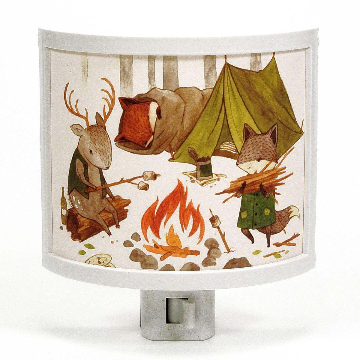 Camping Friends Night-Light