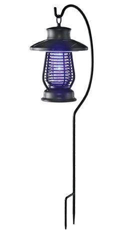 Superb Solar Insect Wacker Lantern, Solar Powered Bug Zapper, Solar Bug Zapper  With Light