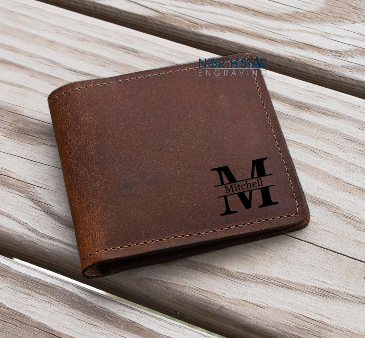 Crazy Horse Skin Wallet Handmade Leather Wallet Birthday Gift Personalized Leather Wallet Custom Cowhide Leather Wallet