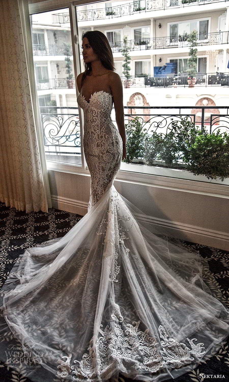 Nektaria 2020 Wedding Dresses Vintage Bridal Collection Wedding Inspirasi Mermaid Wedding Dress Wedding Dresses Wedding Dresses Mermaid Sweetheart [ 1500 x 900 Pixel ]