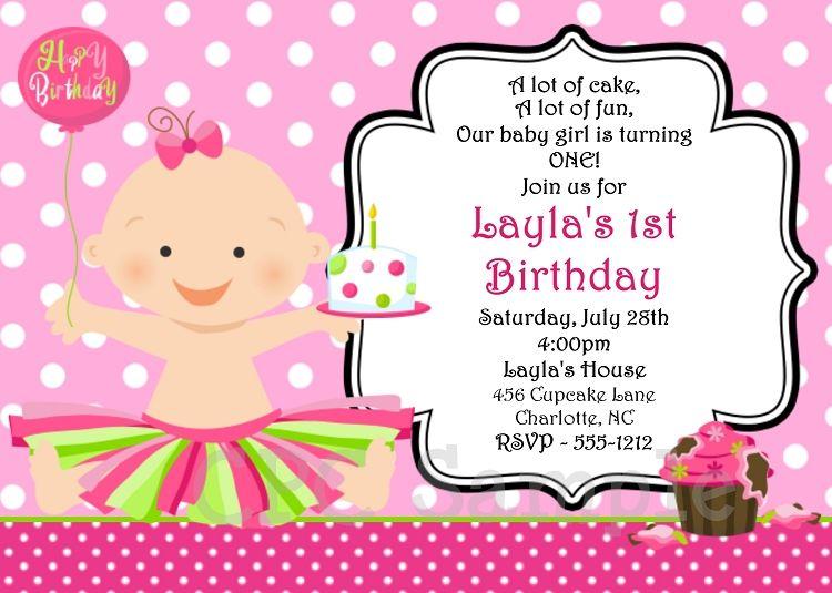 Smash Cake Birthday Invitation Girl Printable Cutie Patootie Creati Invitation Card Birthday Free Birthday Invitation Templates Birthday Invitation Card Online