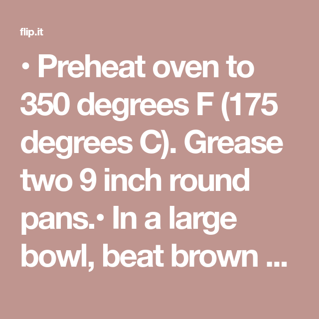 Preheat Oven To 350 Degrees F 175 Degrees C Grease Two 9 Inch Round Pans In A Large Bowl Beat Brown Sugar Rhubarb Coffee Cakes Coffee Cake Baking Soda
