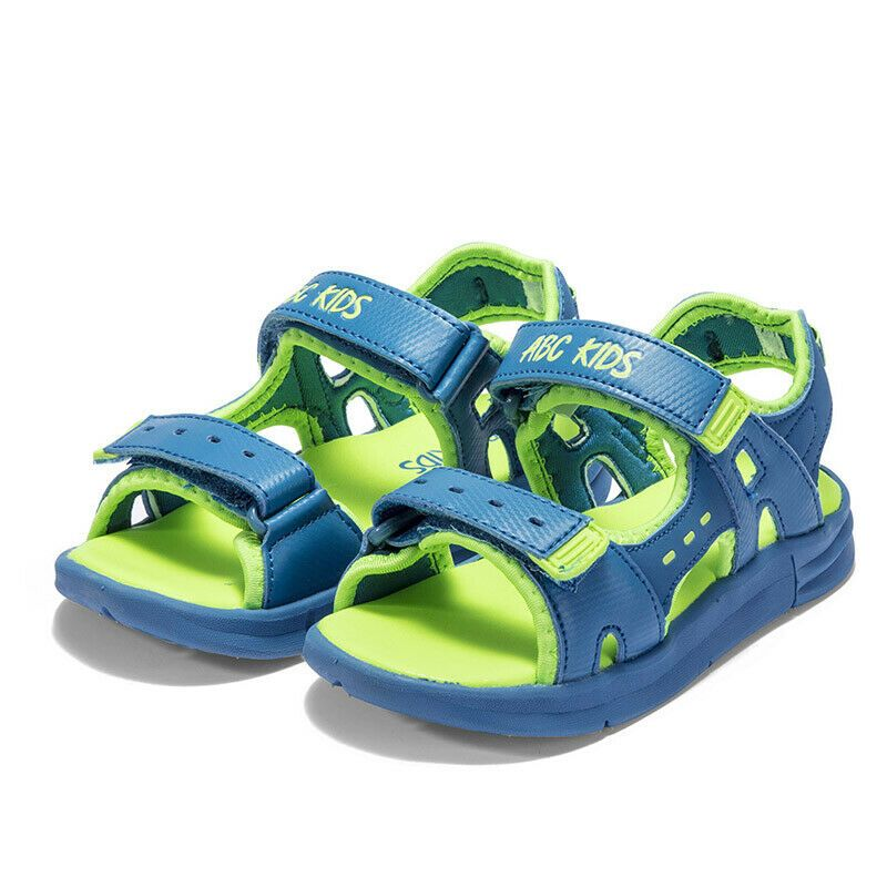 ABC KIDS Baby Boy Toddler Summer Sandals Anti-Slip Ankle Strap Shoes Soft Soled