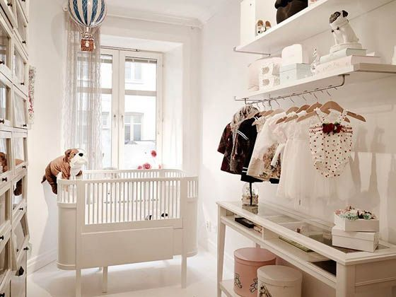 Delightful Scandinavian Apartment With a Beautiful Baby Room   DesignSwan.com