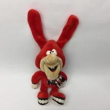 """Domino's Pizza 17"""" Plush Noid Doll With Original Tag Restaurant Advertising"""
