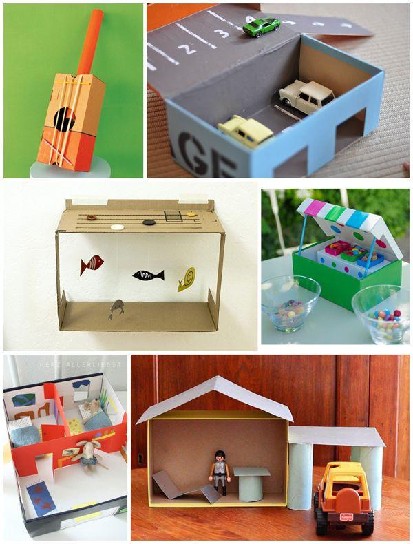 10 Inventive Shoebox Crafts Shoe Box Crafts Diy Educational Toys Crafts For Kids