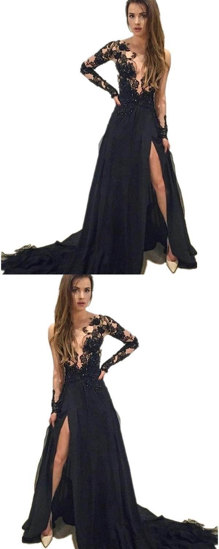 V neck prom dress vneckpromdress appliques prom dress