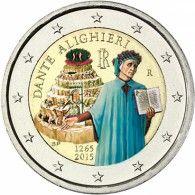 2 Euro Dante Alighieri 2015 Italien 39 Dante Aligheiri Writer