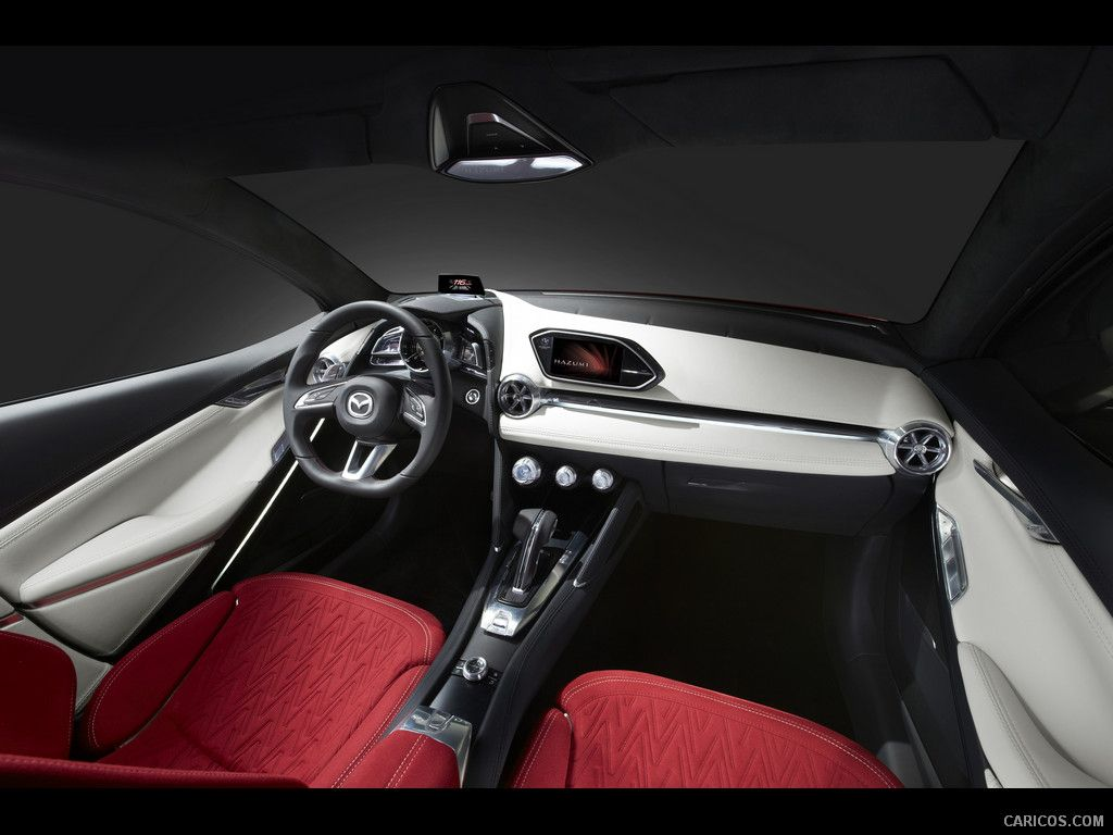 2014 Mazda Hazumi Concept Wallpaper | Interior car design ...