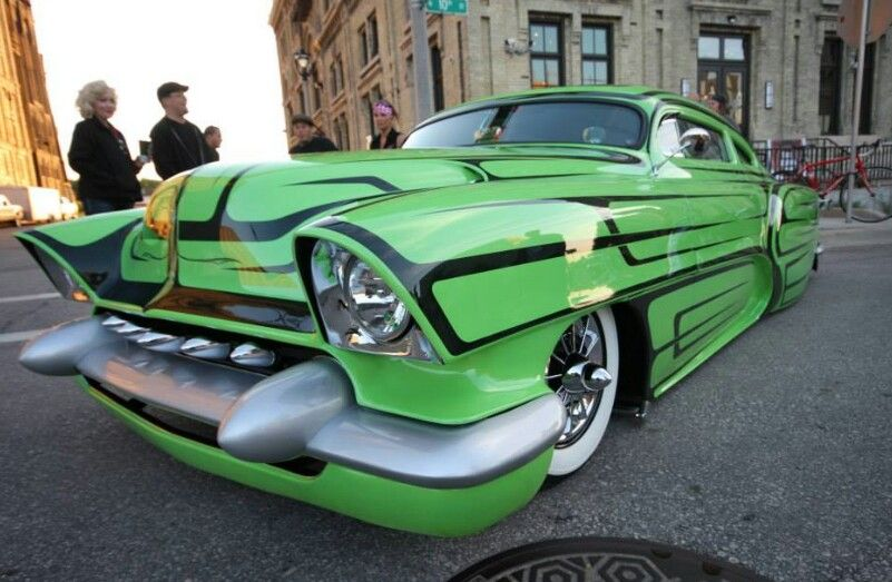 Chop top rat rod custom cars paint classic cars