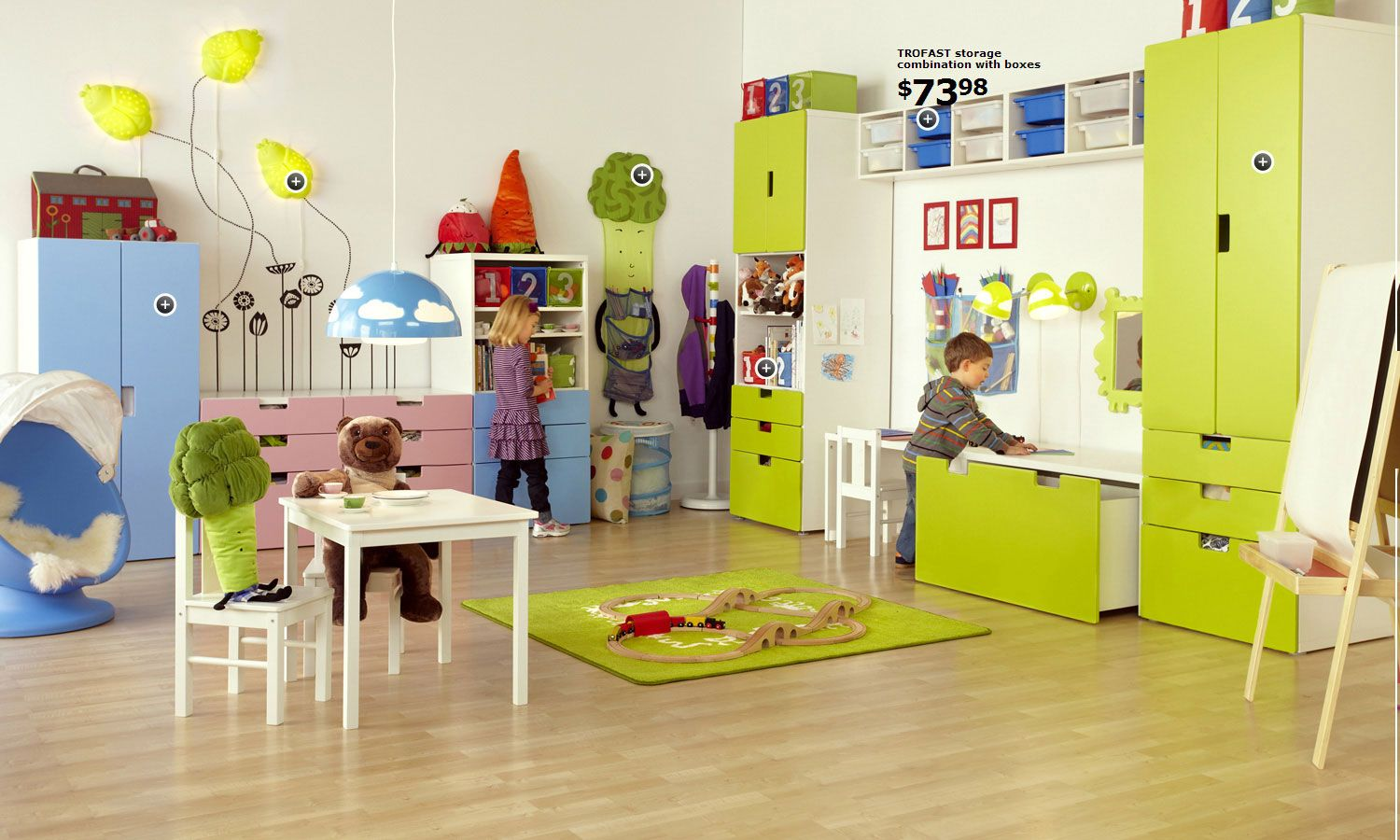 Dormitorio Niña Ikea Ikea Love The Look Color Layout Bebés Niños